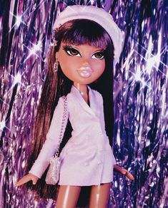 More Bratz requests (I tagged where I got the pics from if you wanna look at more!) - ‼️If you have ideas DM me, DO NOT comment or I else… Bratz Doll Makeup, Bratz Doll Outfits, Bad Girl Aesthetic, Purple Aesthetic, Black Bratz Doll, Brat Doll, Bratz Girls, Black Girl Cartoon, Cartoon Profile Pics