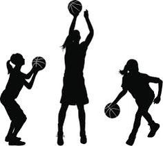 girl basketball player clipart clipart panda free clipart images rh pinterest com girl basketball clipart girl basketball clipart free