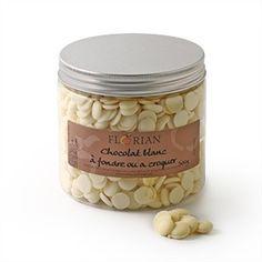 Confiserie Florian - Pépites de chocolat blanc - confiserieflorian.com