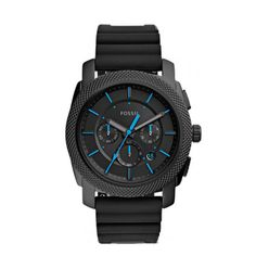 Fossil Machine Chronograph Black Silicone Band Men's Watch – Msrp Fossil Watches, Jeans Brands, Casio Watch, Michael Kors Watch, Latest Fashion Trends, Chronograph, Watches For Men, Ebay, The Originals