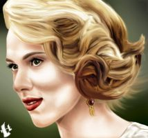 Scarlett johansson by raj475