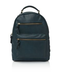 TERRY ZIPPER BACKPACK - Bags - Accessories