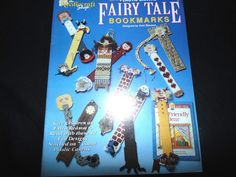Plastic Canvas Fairy Tale Bookmarks Designed By Vicki Blizzard Craft Book #PlasticCanvas #crafts #TheRustyNail