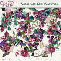 Digital Art :: Celebrate Life [Clusters]