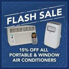 Take 40% off all trees & shrubs! Save up to $80 on window & portable air conditioners, THIRTEEN HOURS ONLY!