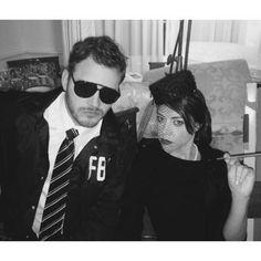Burt Macklin and Janet Snakehole.