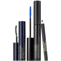 Estée Lauder Sumptuous Knockout Mascara Limited Edition Set ❤ liked on Polyvore featuring beauty products, gift sets & kits, estée lauder and fragrance gift sets