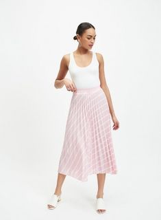 222c2500003f 21 Best Pink pleated skirt images in 2017 | Pleated skirt outfit ...