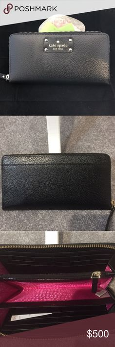 Kate Spade Wellesley NWT/Black Kate Spade Wellesley NWT/Black MSRP $158+tax. 🔴ALWAYS OPEN TO OFFERS-unless marked firm on price 🔴OFFERS SHOULD BE MADE THROUGH POSH OFFER FEATURE 🔴PRICES NOT DISCUSSED IN COMMENTS  🔴FEEL FREE TO ASK ANY QUESTIONS  ❌NO TRADES kate spade Bags Wallets