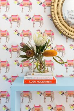 Our Wallpaper Collection features Katie's most popular patterns and prints. Shop unique wallpaper with bold prints and fun designs. Designers can join our to the trade program for additional discounts. Unique Wallpaper, Of Wallpaper, Laundry Room Wallpaper, Wallpaper Ideas, Cosy Home, Curtain Styles, High Quality Wallpapers, Beautiful Mess, Beautiful Flowers
