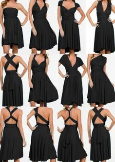 La robe convertible ou Infinity dress