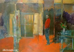 Sughi, Alberto (1928- ) - 1987 The Evening of the Painter