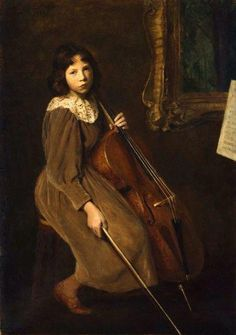 Lilla Cabot Perry, The Young Cellist, 1892