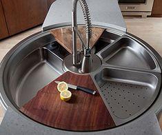 Funny pictures about Revolutionary rotating sink. Oh, and cool pics about Revolutionary rotating sink. Also, Revolutionary rotating sink. Home Design, Küchen Design, Design Ideas, Interior Design, Diy Interior, Modern Design, Design Inspiration, Kitchen Interior, Design Trends