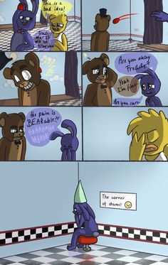 Fnaf comic - Bearable by Maria-Ben on DeviantArt