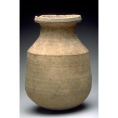 Asian Art Museum Online Collection  Jar with a wide, flat mouthrim Place of Origin: China, Hebei province or Henan province Historical Period: Warring States Period (approx. 480-221 BCE) Materials: Gray low-fired ceramic with impressed cord marks Dimensions: H. 11 1/4 in x Diam. 7 3/4 in, H. 28.6 cm x Diam. 19.7 cm Credit Line: The Avery Brundage Collection Department: Chinese Art Collection: Ceramics Object Number: B60P1224 On Display: No Warring States Period, Asian Art Museum, Online Collections, Chinese Art, Objects, Jar, Display, Ceramics, Glass