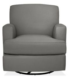 Carter Swivel Glider Chair & Ottoman - Rockers & Gliders - Kids - Room & Board