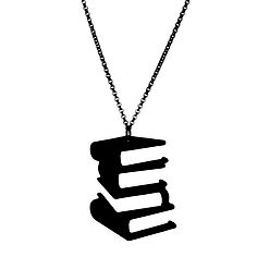 Hardcover Silhouette Necklace