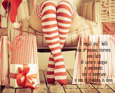 Nero come la notte dolce come l'amore caldo come l'inferno: I regali più belli che si possono ricevere, sono f...