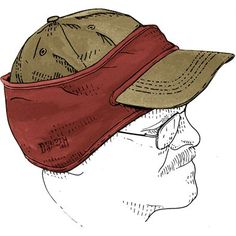 Sewing Men Projects Fleece Ear Warmers - Mens Ball Cap Earband - Have a head? Duluth Trading has functional headwear to keep it covered. Shop our unique selection of functional hats, caps, earflaps and more. Fleece Crafts, Fleece Projects, Easy Sewing Projects, Sewing Hacks, Sewing Tutorials, Sewing Crafts, Sewing Patterns, Dress Tutorials, Dress Patterns