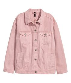 Oversized denim jacket | Ladies | H&M AE