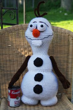 21 best awe stitch sales images on pinterest beanies stitch frozen olaf inspired crochet handmade plush toy by awestitch 9999 fandeluxe Images