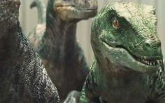 Raptor Charlie hits Echo Stunning Details Jurassic World indominous rex tumblr