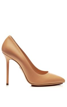 Shop Monroe Leather Pumps by Charlotte Olympia Now Available on Moda Operandi