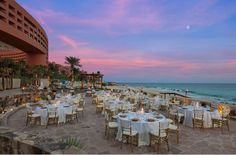 Romantic sunset view at The Westin Resort & Spa, Los Cabos #SPGDreamWedding #SPGWeddings