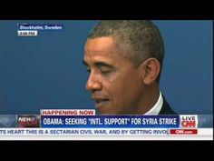 """09-04-13 Obama: """"FIRST OF ALL, I DIDN'T SET A RED LINE. THE WORLD SET A RED LINE. The world set a red line when governments representing 98% of the world's population said the use of chemical weapons are [inaudible] and passed a treaty forbidding their use, even when countries are engaged in war. Congress set a red line when it ratified that treaty. -Op: Just the other day I referenced his recent blaming of the U.N. for 'his' predicament: Now the congress—now the world—is to take his fall?"""