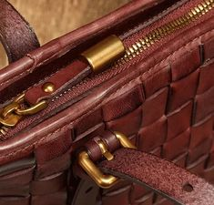 """Material: CowhideColor: Burgundy, GreenDimensions:Inches: Height 7.9"""" x Width 8.7""""~11.8"""" x Depth 4.7"""" Leather Totes, Custom Bags, Vintage Bags, Handmade Leather, Tote Bags, Underarm, Burgundy, Zipper, Women"""