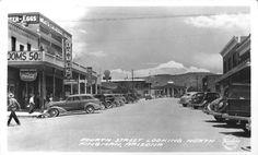 Fourth Street looking North Kingman, Arizona Date:1939
