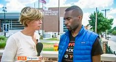 British reporter in Ferguson finds whites openly carrying rifles and peaceful blacks being arrested