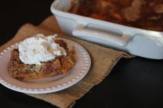 Pumpkin Dump Cake without Cake Mix - substitute out the sugar