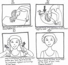 Plunking: Cómo secar el pelo crespo y definir los rizos