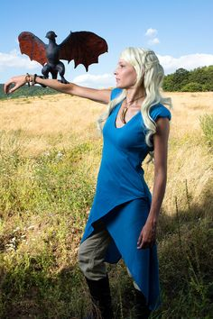Dany and Drogon (Game of Thrones) #cosplay