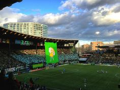 Opening Game of 2013 Season for the Portland Timbers