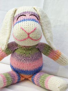 Sock bunny - Isn't he cute?