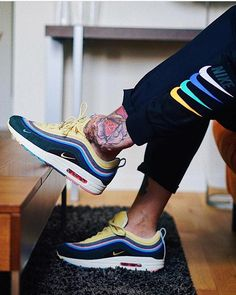 """c62b75eee9b8d7 Schuh Spanner on Instagram  """"Nike Air Max 1 97 """"Wotherspoon"""" 📸 by   max power 86"""