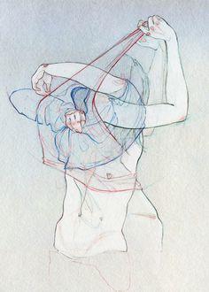 Adara Sánchez Anguiano, Untitled, Ilustración para la Revista Plástica, 2011