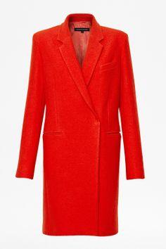 Belle Boucle Wool Coat