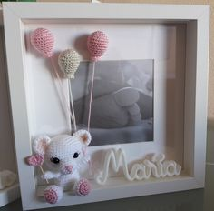 Cuadros personalizados Crochet Mouse, Crochet Amigurumi, Crochet Bunny, Crochet Gifts, Cute Crochet, Handmade Baby Gifts, Handmade Crafts, Knitted Dolls, Crochet Dolls