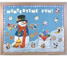 Nuestro mural del invierno curso 201314 Cole Monterrubio de