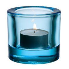 Kivi Votive Light Blue, 6 cm - Heikki Orvola - Iittala - RoyalDesign.com
