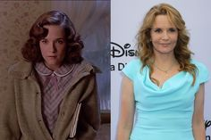 Where Are They Now? Back to the Future - Lea Thompson as Lorraine Baines-McFly - Then and Now from 8Ball.co.uk / http://www.8ball.co.uk/blog/8ball_film/back-future-now/