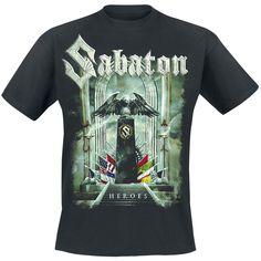 Kivenlahti Rockissa 2014 hurjan keikan vetänyt Sabaton on yksi suosituimmista bändeistä myös EMP:n tuotevalikoiman puolesta. Tilaa viralliset Sabaton-paidat meiltä!