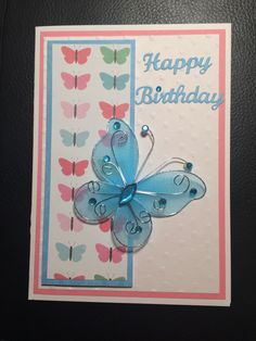 Card for niece Erica's 17th birthday. 2016