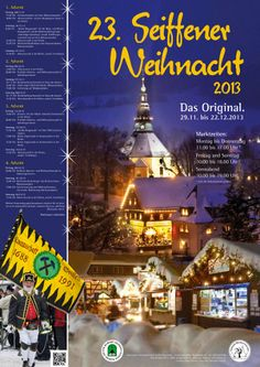 Christmas Market in Seiffen, Germany.  Beautiful hand-crafted wood items!
