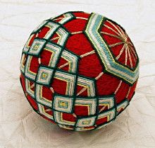 Barbara Maas - Temari Ball No.36