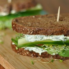 California Veggie Sandwich & Spread Recipe